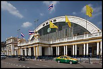 Hualamphong railway station. Bangkok, Thailand (color)