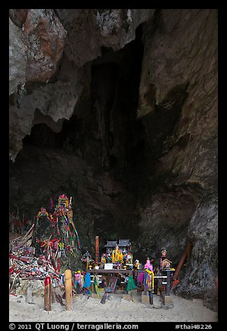 Pranang Cave, Railay. Krabi Province, Thailand (color)