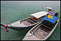 Two boats, Ao Nammao. Krabi Province, Thailand ( color)