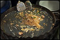 Close up of pan with Pad Thai, Ko Phi-Phi Don. Krabi Province, Thailand ( color)