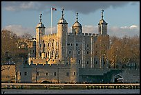 Tower of London, with a view of the water gate called Traitors Gate. London, England, United Kingdom (color)