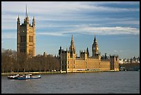 Victoria Tower and palace of Westminster. London, England, United Kingdom (color)