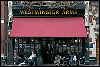 Famous pub Westmister Arms. London, England, United Kingdom (color)