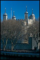 Tower of London, morning. London, England, United Kingdom (color)