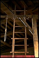 Gallows in the White House, Tower of London. London, England, United Kingdom (color)