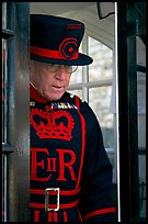 Yeoman Warder (Beefeater), Tower of London. London, England, United Kingdom