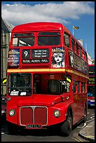 Routemaster double decker bus. London, England, United Kingdom