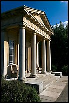 King William's temple. Kew Royal Botanical Gardens,  London, England, United Kingdom ( color)