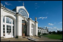 Temperate House, the largest Victorian glasshouse in existence. Kew Royal Botanical Gardens,  London, England, United Kingdom