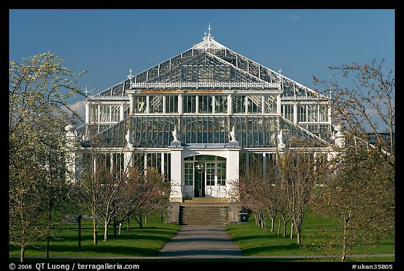 Temperate House. Kew Royal Botanical Gardens,  London, England, United Kingdom (color)