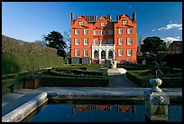 Kew Palace and basin. Kew Royal Botanical Gardens,  London, England, United Kingdom