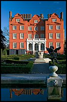 Kew Palace, the smallest of the royal palaces. Kew Royal Botanical Gardens,  London, England, United Kingdom (color)