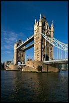 Tower Bridge, early morning. London, England, United Kingdom
