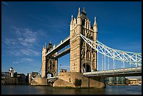 Tower Bridge, early morning. London, England, United Kingdom ( color)