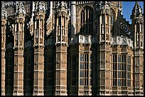 Architectural detail, Westminster Abbey. London, England, United Kingdom ( color)