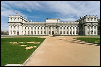 University of Greenwich and Trinity College of Music. Greenwich, London, England, United Kingdom (color)