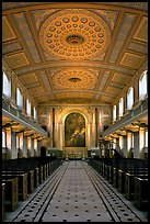 Chapel, Old Royal Naval College. Greenwich, London, England, United Kingdom