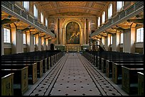Chapel, Greenwich Hospital. Greenwich, London, England, United Kingdom ( color)