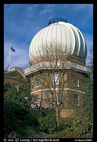 Royal Greenwich Observatory. Greenwich, London, England, United Kingdom