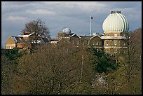 Royal Observatory,  the first purpose-built scientific research facility in Britain. Greenwich, London, England, United Kingdom ( color)