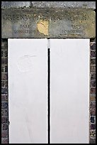 Greenwich meridian, or Prime meridian, the basis of Longitude, Royal Observatory. Greenwich, London, England, United Kingdom ( color)