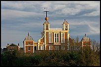 Flamsteed House designed by Christopher Wren, Royal Observatory. Greenwich, London, England, United Kingdom