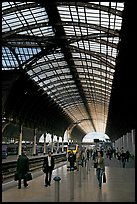 Paddington Rail station. London, England, United Kingdom (color)