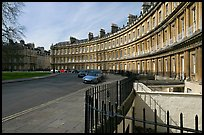 Royal Circus. Bath, Somerset, England, United Kingdom ( color)