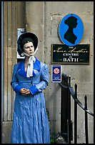 Jane Austen centre. Bath, Somerset, England, United Kingdom (color)