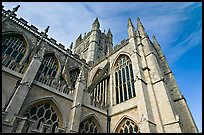 Towering Bath Abbey. Bath, Somerset, England, United Kingdom