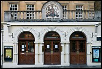Royal Theatre facade. Bath, Somerset, England, United Kingdom (color)