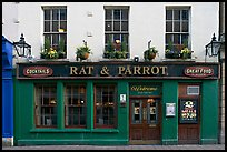 Facade of restaurant and pub. Bath, Somerset, England, United Kingdom (color)