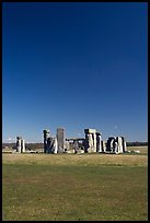 Stone circle, Stonehenge, Salisbury. England, United Kingdom (color)