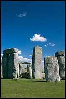Megaliths, Stonehenge, Salisbury. England, United Kingdom (color)