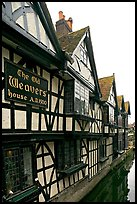 Old Weavers house dating from 1500. Canterbury,  Kent, England, United Kingdom (color)
