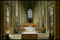Altar and Nave, Canterbury Cathedral. Canterbury,  Kent, England, United Kingdom ( color)