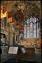 Memorial Book of Names, a page of which is turned daily  in the St Michael Chapel, Canterbury Cathedral. Canterbury,  Kent, England, United Kingdom