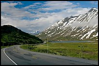 Richardson Highway below Thompson Pass. Alaska, USA ( color)