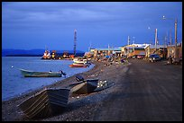 Shore avenue. Kotzebue, North Western Alaska, USA ( color)