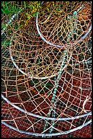 Fishing nets. Homer, Alaska, USA ( color)