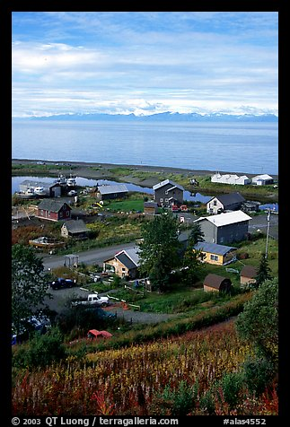 Old village. Ninilchik, Alaska, USA