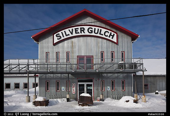 Silver Gulch, northernmost brewery. Fairbanks, Alaska, USA (color)