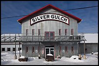 Silver Gulch, northernmost brewery. Fairbanks, Alaska, USA ( color)