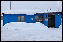 Post Office, Coldfoot. Alaska, USA ( color)