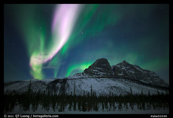 Northern Lights Alaska Wallpaper Alaska Usa Color Aurora