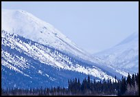 Brooks range mountains in winter. Alaska, USA ( color)