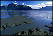 Mud flats, Turnagain Arm. Alaska, USA