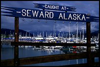 Seward harbor. Seward, Alaska, USA