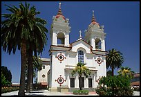 Portuguese Cathedral, mid-day. San Jose, California, USA (color)