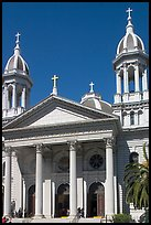 Saint Joseph Cathedral. San Jose, California, USA ( color)